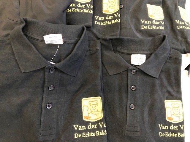 Polo shirts met Logo borduren binnen 3-5 dagen in huis!