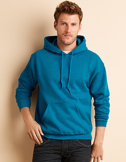 G18500 Heavy Hooded Sweatshirt Gildan met Logo borduren