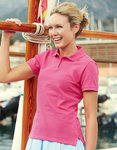 F519 lady fit damespoloshirts fruit of the loom