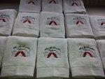 Logo borduren handdoeken
