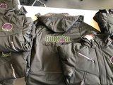 logo borduren op softshell winter jassen gratis aanbieding