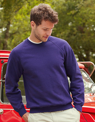 F304 Raglan Sweat Fruit of the Loom