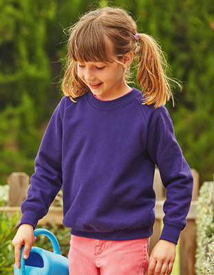 F304K Raglan Sweat Fruit of the Loom