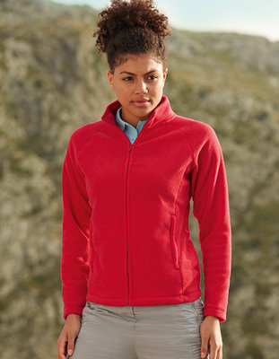 F854 Lady-Fit Full Zip Fleece Fruit of the Loom