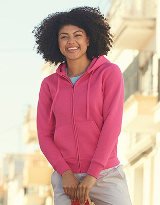 F440N New Lady-Fit Hooded Sweat-Jack Fruit of the Loom