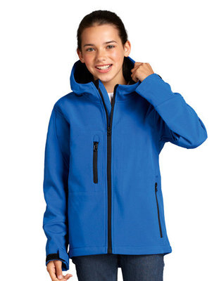 L848K Kinder Hooded Softshell Jacks Replay