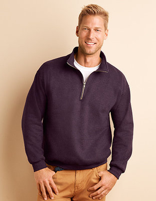 G18800 Heavy Blend 1/4 Zip Collar Gildan