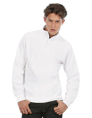 BCWUI22 Sweater met rits B&C