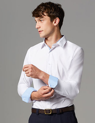 L604 Long Sleeves Fitted Shirt Broker Men Sols