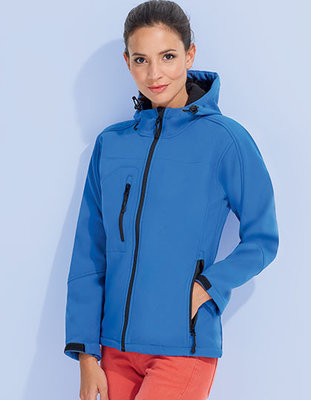 L849 Dames Hooded Softshell Jacks Replay