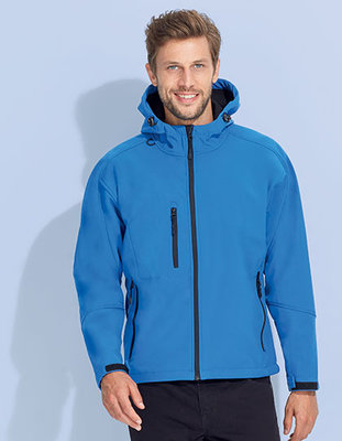 L848 Heren Hooded Softshell Jacks Replay