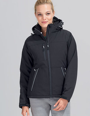 L844 Rock Women Padded Softshell