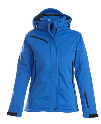 Softshell Jas SKELETON Dames OCEAANBLAUW Printer Winterjas