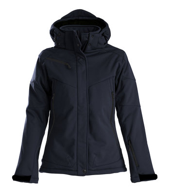 Softshell Jas SKELETON Dames MARINE Printer Winterjas