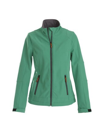 Softshell Jas TRIAL Dames FRISGROEN Printer