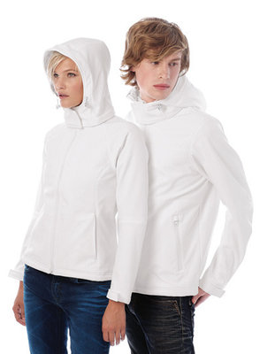 BCJW937 Hooded Softshell/Dames B&C