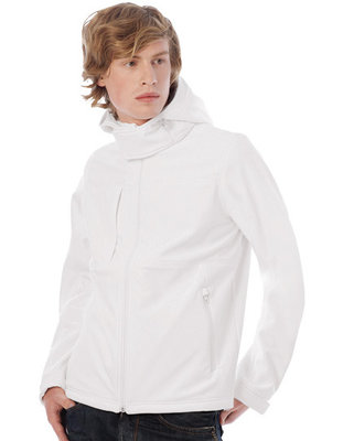BCJM950 Hooded Softshell/Heren B&C