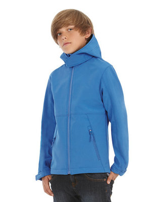BCJK969 Hooded Softshell/Kids B&C