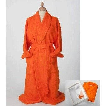 AR411 Badjas Bright Orange (oranje) A&R