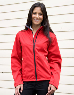 RT209F Ladies Softshell Jacket Result CORE