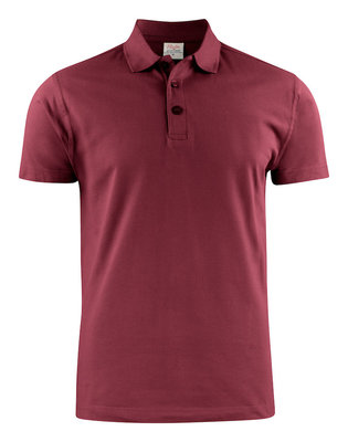 Surf RSX Polo Heren BORDEAUX Printer