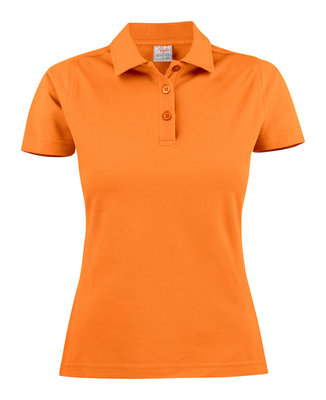 Surf Polo Dames ORANJE Printer