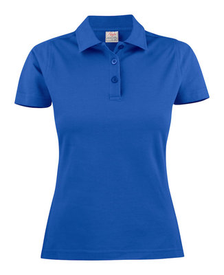Surf Polo Dames BLAUW Printer