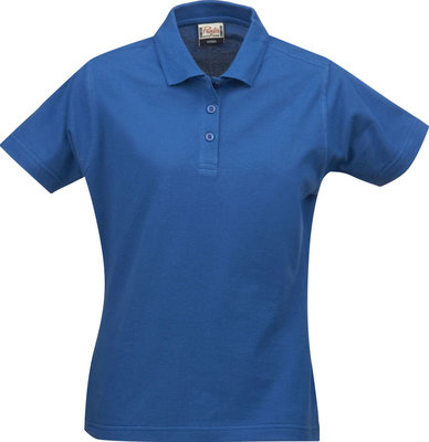 Surf Polo Dames OCEAANBLAUW Printer