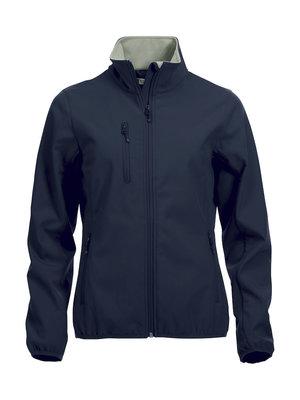 0209015 Dames Softshell JasDark navy merk Clique