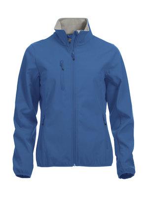 0209015 Dames Softshell JasKobaltblauw merk Clique