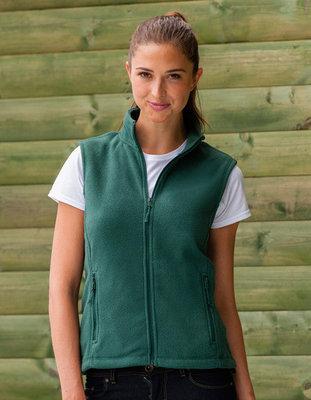 Z8720F Dames Outdoor Fleece Gilet RUSSELL
