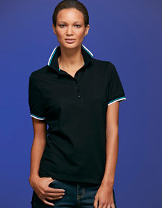 JN965 Dames Coldblack Polo JAMES & NICHOLSON