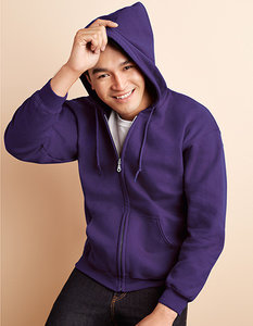 G18600 Heavy Blend Full Zipp Hooded Sweatshirt Gildan