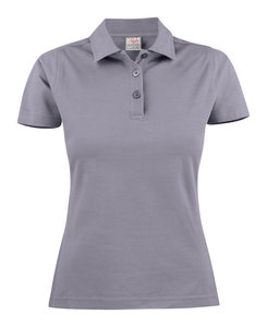Surf Polo Dames GRIJS Printer
