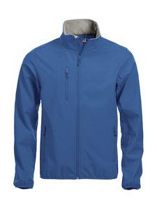 0209010 Softshell Jas Heren Kobalt blauw merk Clique