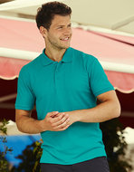 F502 Heren Poloshirts Fruit of the Loom borduren aanbieding
