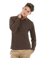 Safran B&C pique poloshirts lange mouwen polosweaters