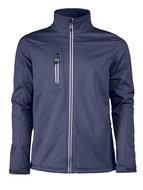 Softshelle Fleece jas marine donkerblauw