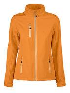 goedekope oranje softshell jassen dames bedrijfskleding borduren