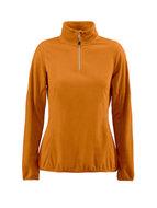 oranje goedkope fleece promotionele bedrijfskleding borduren oranje