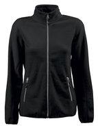 Goedkope dames Fleece zwart Bedrijfskleding borduren