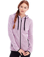 S5950 Womens Active Knit Fleece Jacket