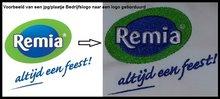 Borduurkaart aanmaken Logo borduren