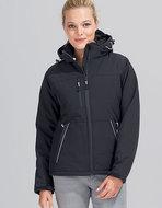 L844 dames softshell jas zwart kopen