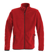 2261500 Fleece Vest SPEEDWAY Heren ROOD Printer