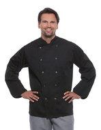 zwarte koksbuizen heren keuken werkkleding
