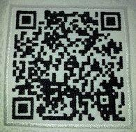 QR code borduren