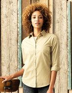 PW300 dames blouse Premier logo borduren op kleding