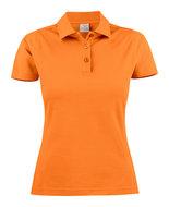 2265009 Surf Polo Dames oranje merk Printer