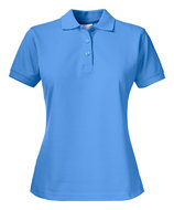 2265014 Surf PRO Polo Dames Oceaanblauw merk Printer borduren met logo